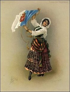 Azorean Woman waving a 1910 Royal Flag.