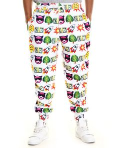 Love this Hudson Nyc Men Emoji Life Jogger Pants on DrJays and only for $99. Take a look and get 20% off your next order! Exclusions apply.