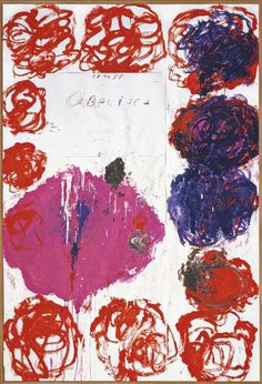 terminus ante quem — Cy Twombly (American, 1928-2011), Untitled...