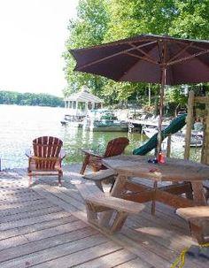 Lake Anna, Virginia - one of 5 summer lake getaways. Get ideas!