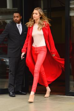 Gigi Hadid Wears the Stop-You-in-Your-Tracks Outfit We Wish We Had On waysify