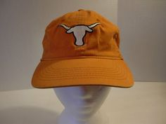 University of Texas Longhorns Natural Fit M L Baseball Cap Hat One Size Unisex | eBay