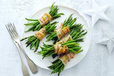 Het hoofdgerecht moet wel héél goed zijn om dit bijgerecht te kunnen overtreffen. - recept - Allerhande Fresh Rolls, Get Healthy, Asparagus, Green Beans, Favorite Recipes, Chicken, Dinner, Vegetables, Cooking