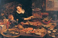 Fish-shop - Frans Snyders -