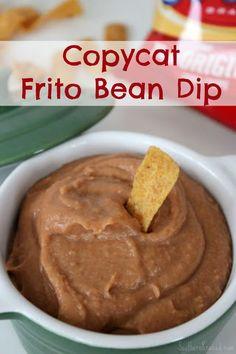 Easy-Copycat-Frito-Bean-Dip (scheduled via http://www.tailwindapp.com?utm_source=pinterest&utm_medium=twpin&utm_content=post418579&utm_campaign=scheduler_attribution)