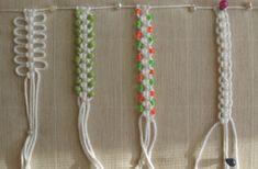 Some ideas for bracelets.