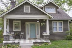 Image result for small gray house exteriors