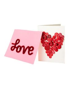 cards holiday, valentine day crafts, diy crafts, valentine day cards, button, diy valentine's day, valentine cards, diy card, pipe cleaner