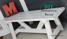 DIY Providence Front Porch Bench