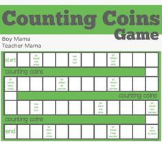 Teacher Mama: 7 Fun Activities for Learning about Coins {After School Linky}