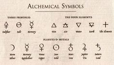 alchemy symbols and meanings | http www amazon com alchemists kitchen extraordinary potions curious ...: