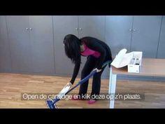 Bona Spray Mop - uitgebreide film met uitleg en montage-instructies