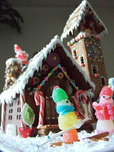 This is really going over and beyond your average gingerbread house!
