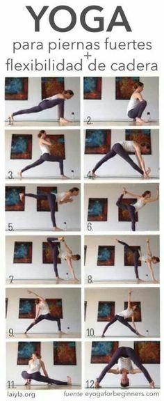Yoga Sequence to Help You Build a Stronger Body Yoga for runners.Yoga for runners.Dynamic Yoga Sequence to Help You Build a Stronger Body Yoga for runners.Yoga for runners. Yoga Bewegungen, Hatha Yoga, Sup Yoga, Yoga Moves, Yoga Exercises, Hip Stretches, Kundalini Yoga, Bhakti Yoga, Middle Splits Stretches
