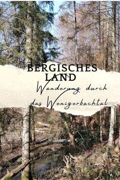 Ich nehme dich mit in die Traumhaften Bachtäler von Wenigerbach und Naafbach im Bergischen Land NRW Hotels, Outdoor, Plants, Travel, Signage, Rainy Days, Nature Reserve, Outdoors, Viajes