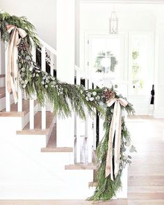 BECKI OWENS- 8 Festive Ways to Decorate with Holiday Greenery + visit my Holiday Greenery Shop at beckiowens.com