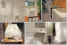 #Corian bianco e legno: rexa Design | b10 cose che ricorderò del Salone del bagno 2014 (+1) - #Milano #DesignWeek #SaloneBagno