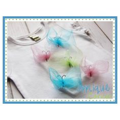 Butterfly Tulle Embroidery Design