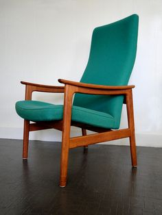 Danish Teak Mid Century Hong Stole Side Chair. $ 525.00, via Etsy.