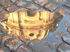 Reflection Photo, Rome Italy Photo by: Mike Stephanoff