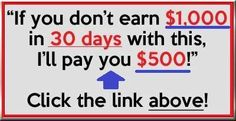 http://workfor1dollar.com/joinme/ If you don't earn $1,000 in 30 days with my methods ill pay you $500! --- PLEASE REPIN <3  #makemoney