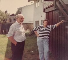 Andy and Joan Anderson. Applecross Cr., Surrey. 1990