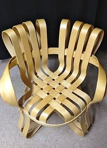 Knoll Studio cross check arm chair mid century modern design chair - 1992