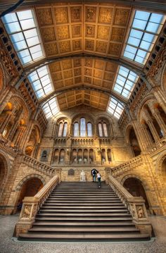 Natural History Too - (HDR London, UK) - Natural History Museum, London, England. One of my favourites and, like most of the museums in Lond - England Uk, London England, The Places Youll Go, Places To See, Natural History Museum London, Hdr Photography, Amazing Architecture, Vintage Architecture, Viajes