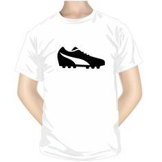 Tee shirt : CHAUSSURE de football - Collection de sport - SiMedio