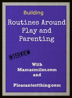 What's your play routine? Do you have one? Want to change or update yours? We have some ideas . Listen while you play