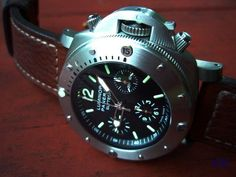 Panerai 292 Titanium 1000mm Chrono Watch