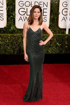 Pin for Later: Seht alle Stars auf dem roten Teppich bei den Golden Globes! Michelle Monaghan
