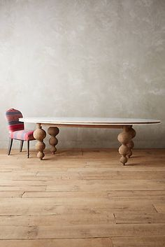 Lacquered Elm Dining Table, Large Oval