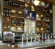 Lowlander in London - lovely selection of Belgian beers