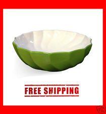 Green Color Bathroom Porcelain Ceramic Sink Vessel Basin Bowl - BSC302