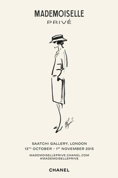 | Chanel Exhibition Comes To London October 13 to November 1, 2015 at the Saatchi Gallery.