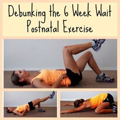 When To Start Exercising Post Birth:Debunking The 6 Week Wait | Pregnancy Exercise