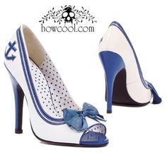 Sailor Shoe With 5 Inch Heel