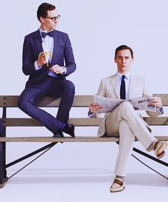 Tom Hiddleston beside himself. Okay. That noise I made was not human.