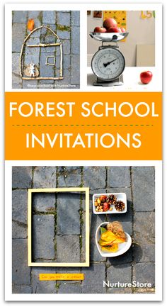 Forest school play and exploration ideas for autumn - NurtureStore Forest School Activities, Fun Math Activities, Play Based Learning, Learning Through Play, Teaching Kindergarten, Teaching Ideas, Preschool, Seasons Lessons, Family Day Care