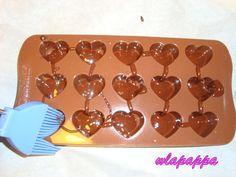 Ricetta cioccolatini dal cuore morbido pubblicata da wlapappa - Questa ricetta è nella categoria Dessert e pralineria