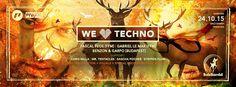"""we love techno"" at Balz Bambii, Freiburg with Pascal Feos, Gabriel Le Mar, Chris Milla, BENZON & GARPO... #welovetechno #balzbambi #pascalfeos #gabriellemar"