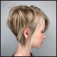100 Mind-Blowing Short Hairstyles for Fine Hair | Thin hair, Pixie ... | Einfache Frisuren