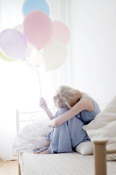 Wenn Träume fliegen lernen - odernichtoderdoch.de #balloons #photography
