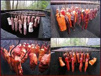 Smoking meats - this website is a WEALTH of information on smoking and curing. With many recipes for suasages and lots and lots of info on smoking different kinds of meat