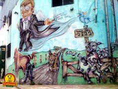 Buenos Aires , Hostel Colonial , Street Art , a constant relationship of admiration in this Buenos Aires blog . Personal or group expression...