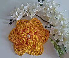 A detailed MK / Crochet / knitting crochet accessories Freeform Crochet, Crochet Motif, Irish Crochet, Crochet Stitches, Knit Crochet, Crochet Hats, Crochet Flower Tutorial, Crochet Flower Patterns, Crochet Designs