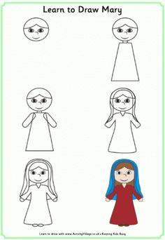 Learn to Draw Mary