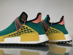 "52252e1b0 Adidas NMD Human Race Pharrell Williams ""Sun Glow"" AC7188  36-48 Pharrell"