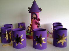 imagenes de fiesta tematica de rapunzel - Buscar con Google